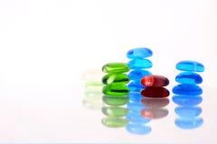 färgexponeringsglasstenar Royaltyfri Fotografi