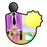 färgferier Royaltyfri Bild
