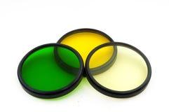färgfilter arkivfoton