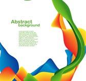 Färgformer och linjer Arkivfoton