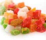 färgfrukter arkivfoto