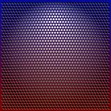 färggallermetall Arkivfoto