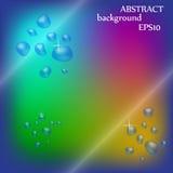 Färgglad bakgrund för abstrakt design Arkivbild