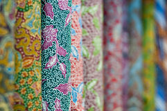 färgglad batik Royaltyfri Fotografi
