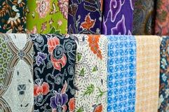 färgglad batik Arkivbild