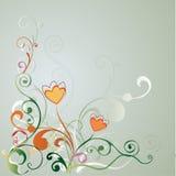 färgglad blomma för bakgrund Arkivfoton