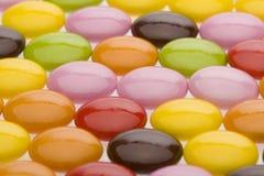 färgglad choklad Arkivfoto