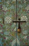 Färgglad dörr royaltyfri fotografi