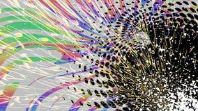 Färgglad grungeabstrakt begreppbakgrund, regnbågelutning, vektor royaltyfri fotografi