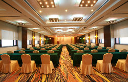 färgglad konferenslokal royaltyfri foto