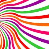 Färgglad kurvsammansättning har en avkänning av perspektivbakgrund Fotografering för Bildbyråer