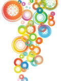 färgglad mandala för bakgrund Royaltyfri Foto