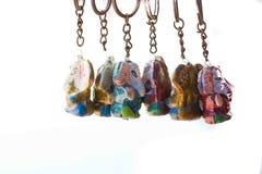Färgglad nyckel- gobeläng Royaltyfria Foton