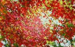 Färgglad pentagonbakgrund Royaltyfria Foton