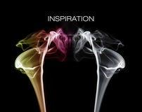 färgglad rök Royaltyfri Fotografi