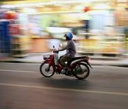 Färgglad rörelse, Thailand Arkivfoto
