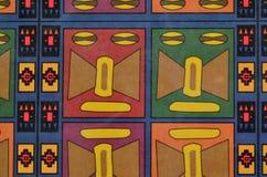 Färgglad sömlös mayan modell Arkivbilder