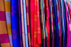 Färgglad silk Royaltyfri Fotografi