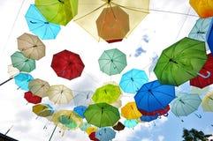 färgglad sky Arkivbild