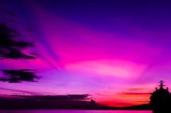 Färgglad Sky - Trinidad och Tobago Royaltyfria Bilder
