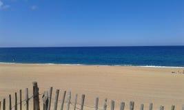 Färgglad strand på Atlanktiken Royaltyfria Foton