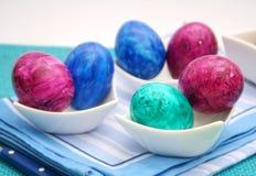 färgglada ägg Fotografering för Bildbyråer