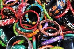 färgglada bangels Fotografering för Bildbyråer
