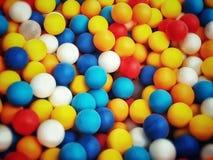 färgglada bollar royaltyfri foto
