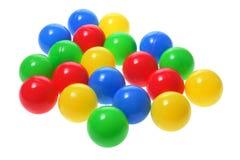 färgglada bollar Arkivbild