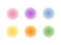 Färgglada cirklar Royaltyfri Bild