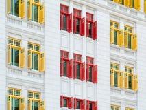 färgglada fönster Royaltyfri Fotografi