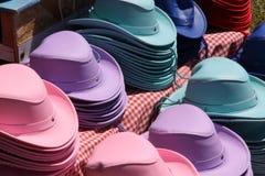 färgglada hattar Royaltyfri Foto