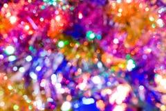 färgglada lampor Royaltyfri Fotografi