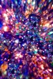 färgglada lampor Arkivfoton