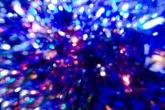 färgglada lampor Arkivfoto