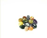 färgglada pebbles Royaltyfri Bild