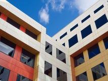Färgglade byggnadskvarter Royaltyfri Fotografi