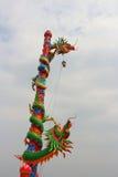Färgglade drakar Arkivbilder