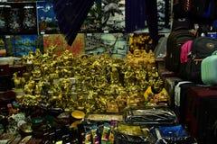 Färgglade marknadsprodukter Royaltyfri Bild