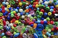 Färgglade pärlor Royaltyfria Bilder