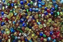 Färgglade pärlor Arkivfoton