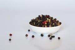 Färgglade peppar Fotografering för Bildbyråer