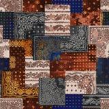 färgglade väggtegelplattor planlägger, den abstrakta hem- för oljamålarfärg för dekorativ konst väggen belägger med tegel modelld stock illustrationer