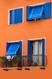 Färgglatt hus Royaltyfri Foto