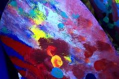 Färgglatt måla Royaltyfria Foton