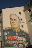 Färggrafitti i Moskvacentrum Royaltyfri Bild