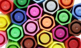 färggrupppenna Fotografering för Bildbyråer