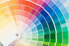 färghandbok royaltyfri foto