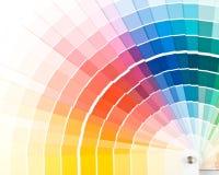färghandbok Royaltyfria Bilder