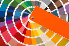 färghandbok Arkivbild